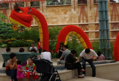 Year of the Snake Sentosa Island