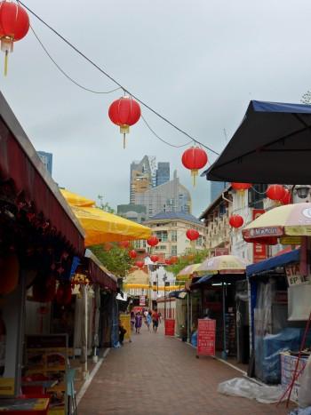 Singapore Chinatown decorations