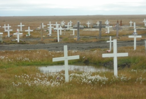 Burial Ground Top of the world tour barrow alaska