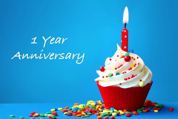 1yr anniversary