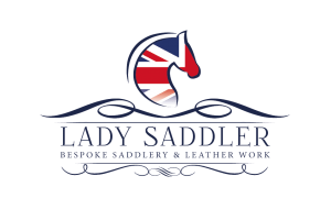 Lady Saddler logo_FIN_BL_WH