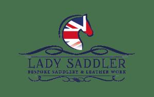 Lady Saddler logo_FIN_BL_WH