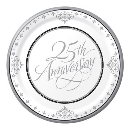 Twenty Fifth Wedding Anniversary