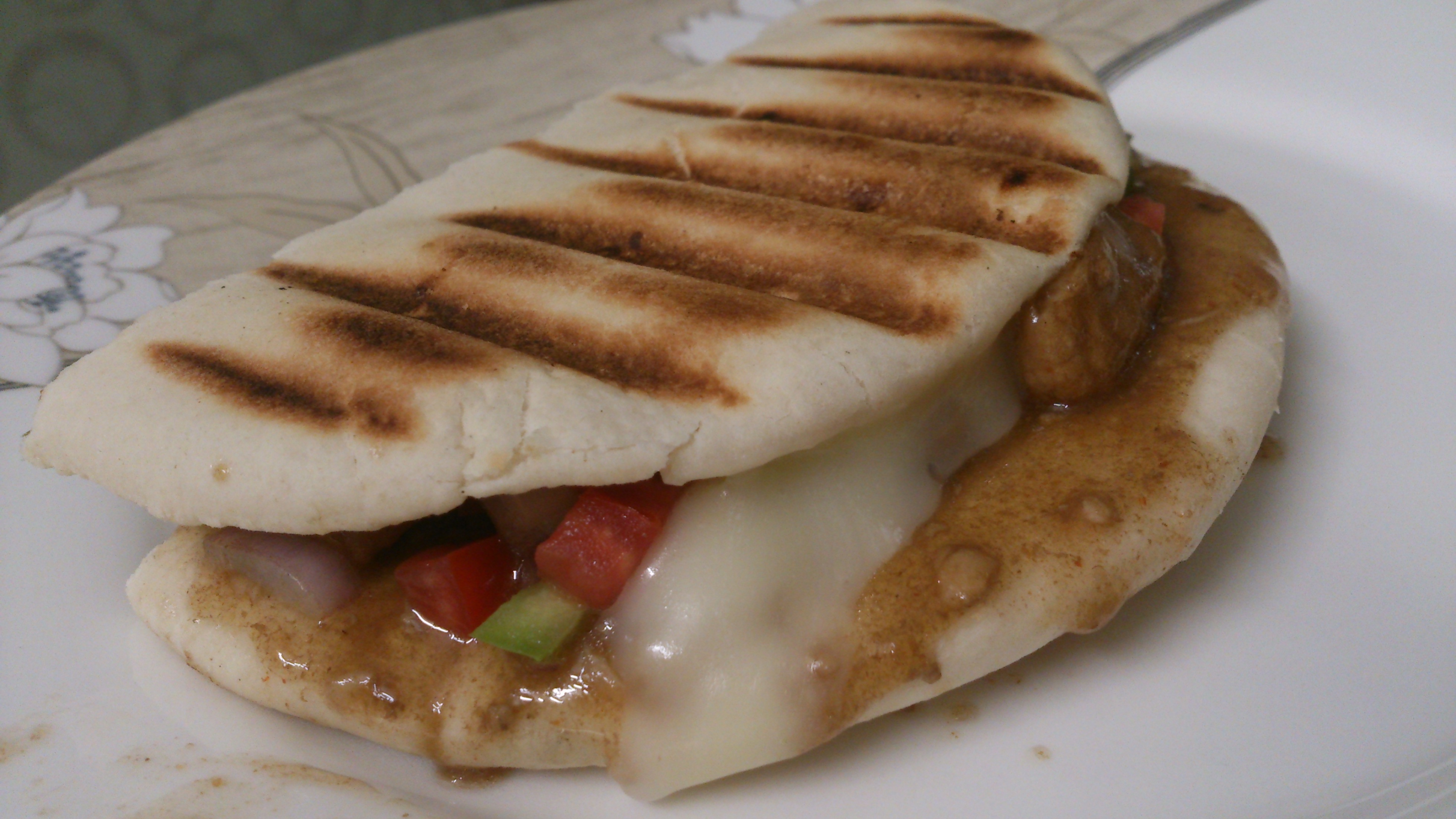 Chicken Teriyaki Panini