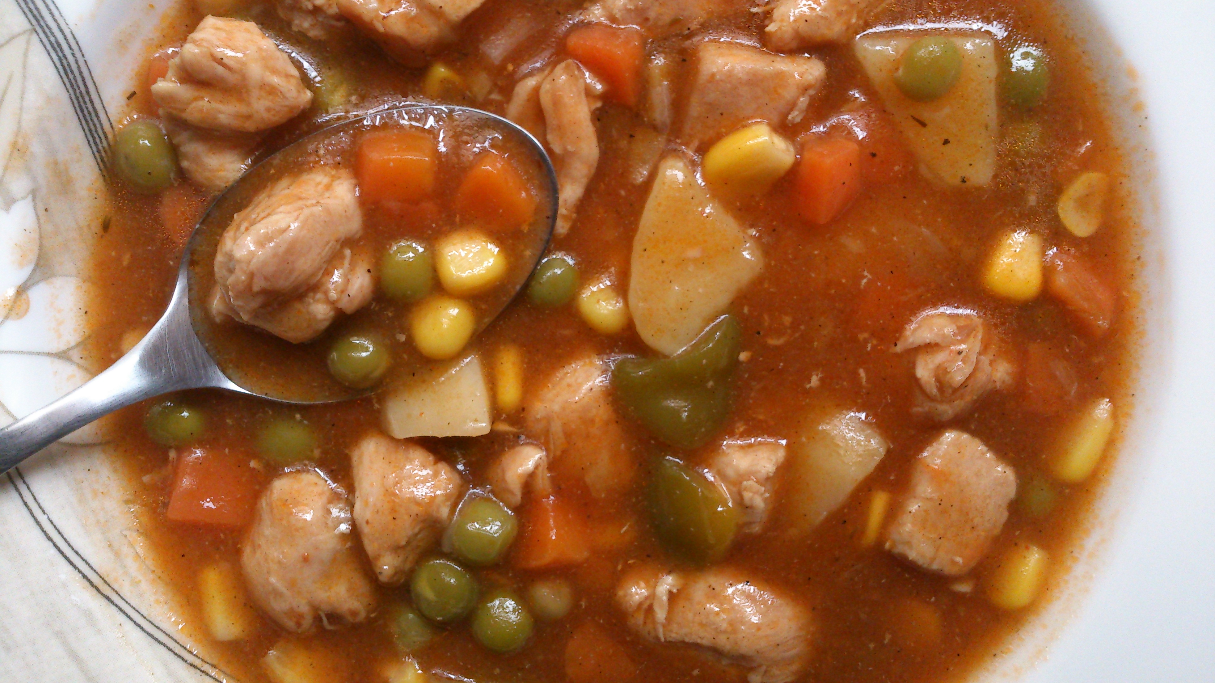 Old Fashioned Chicken and vegetable Stew (Gluten Free)
