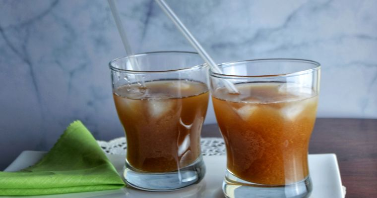 Imli Aalo Bukhara Sharbat (Tamarind and Plum Drink)