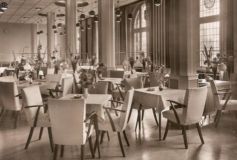"Hotel ""Ons Thuis"" | Café-gedeelte"