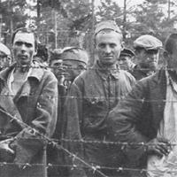Bron: http://blogimages.bloggen.be/tweedewereldoorlog | Door de Duitsers gevangengenomen Russen.