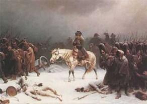Napoleons verlies in Moskou