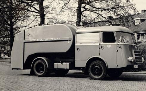DAF roltrommel vuilniswagen