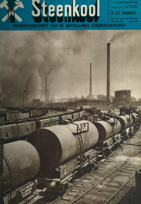 Bron: Demijnen.nl | Cover blad Steenkool 1947 nummer 14