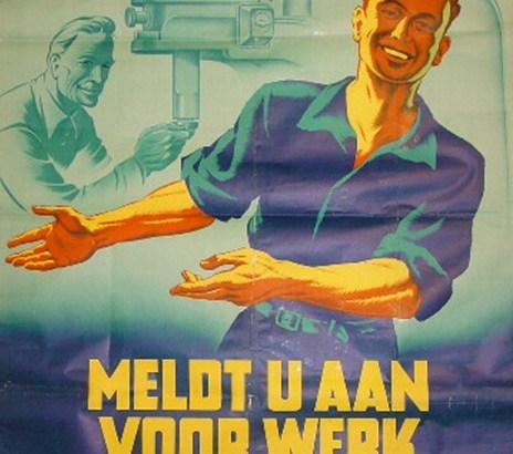 Bron: oorlogsslachtoffersculemborg.nl | Met ingang van 1 mei 1941 voerde de bezetter de Gewestelijke Arbeidsbureaus in.