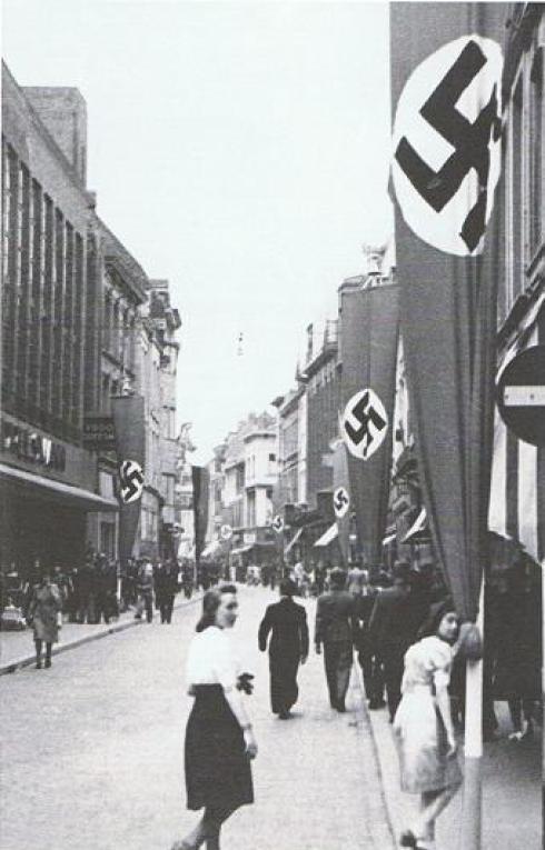 Bron: Blikopdewereld.nl | Maastricht tijdens de Tweede Wereldoorlog, Grote Staat in 1942