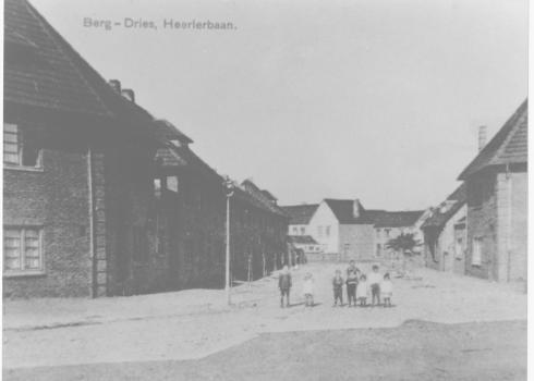Bron: Rijckheyt.nl | Heerlerbaan Bergdriesch in de twintiger jaren