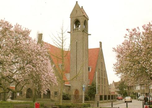 De protestantse kerk aan het Tempsplein