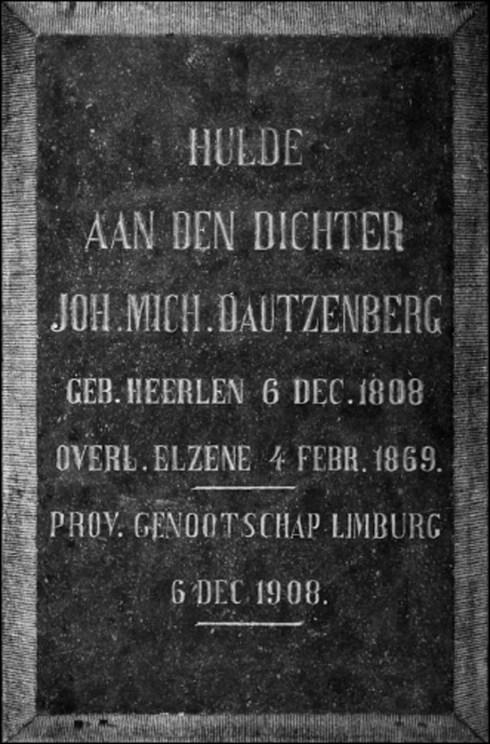 Bron: Privé collectie: Plaquette Dautzenberg