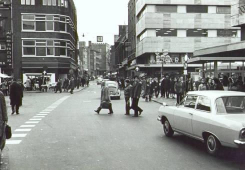 Bron: Rijckheyt.nl | Saroleastraat. Links de Bongerd. Rechts de Promenade.