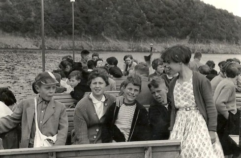 Bron: Privé collectie   Foto van het bootreisje