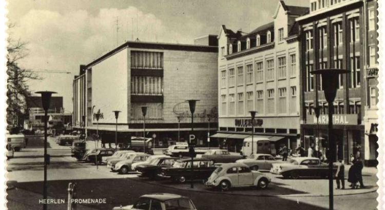 Bron: Rijckheyt.nl | In het midden de Grand Bazar op de hoek Saroleastraat/Promenade.