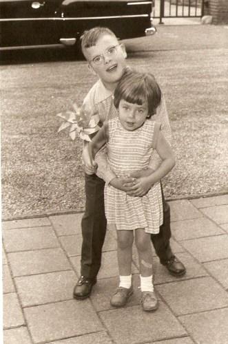 Gerard Hoefnagels en Susanne Belt 1958