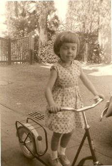 Smedestraat, bij tuin van Dinger, Susanne Belt 1959