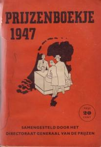 Bron: Antiqbook.com   Prijzenboekje 1947