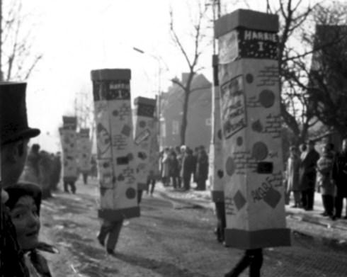 Dansende torens, Carnavalsoptocht 1963