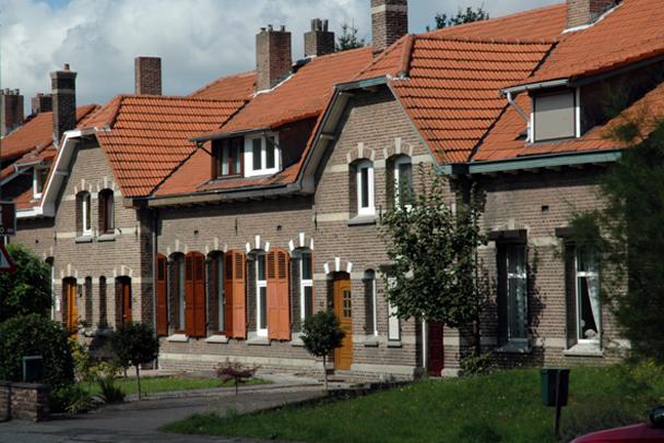 Foto: Ton van Mastrigt   Mijnwerkerswoningen Rennemigerstraat
