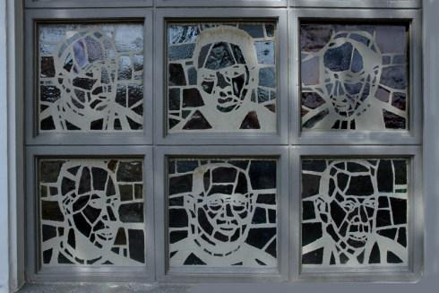 Moderne heiligen, Glas-in-beton , Sint Annakerk, 2005