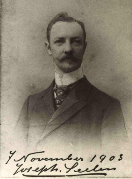 Bijschrift: Jos Seelen in 1903 | Bron: Rijckheyt.nl