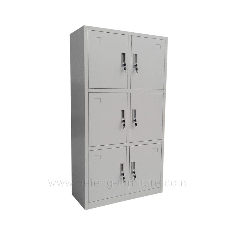 6 Door Personnel Lockers  Luoyang Hefeng Furniture