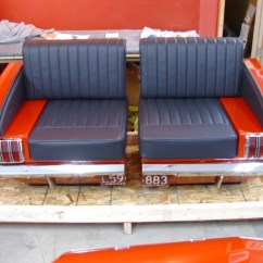 Cars Sofa Chair How To Patch A Tear In Leather Retro Automotive Car Couches Chairs Desks