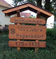 1000 Jahre Hegensdorf