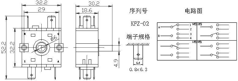 Rotary SwitchKFZ-02