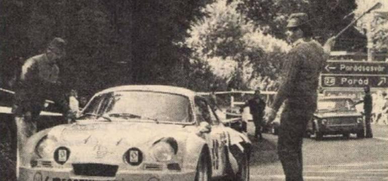 Selmeczi György – Renault Alpine A110    1985