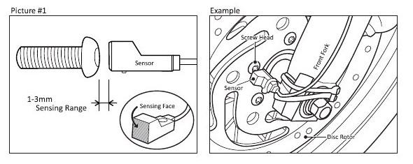 Sensor do DAYTONA VELONA i ASURA Panasonic GX-H12A