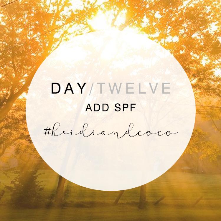 14 Days to Wellness - Day 12 / www.heidiandcoco.com