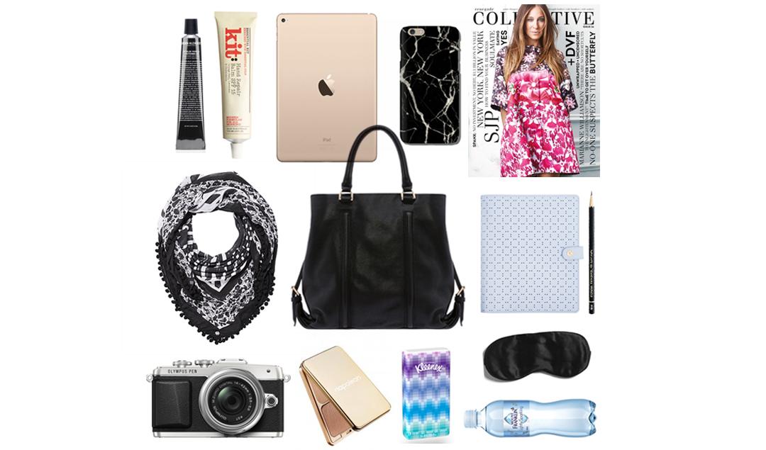Travel tips, the handbag / www.heidiandcoco.com