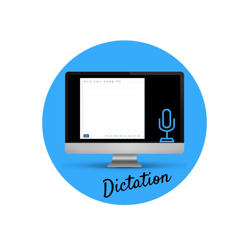 Digitaltool: Dictation per dettare un testo