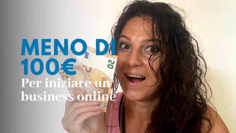 come ho lanciato il mio business online con meno di 100€