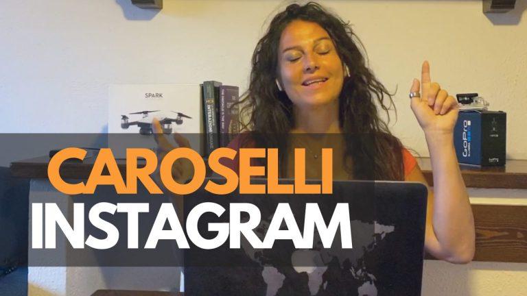 Caroselli su Instagram