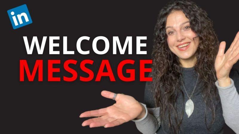 messaggi di benvenuto su linkedin