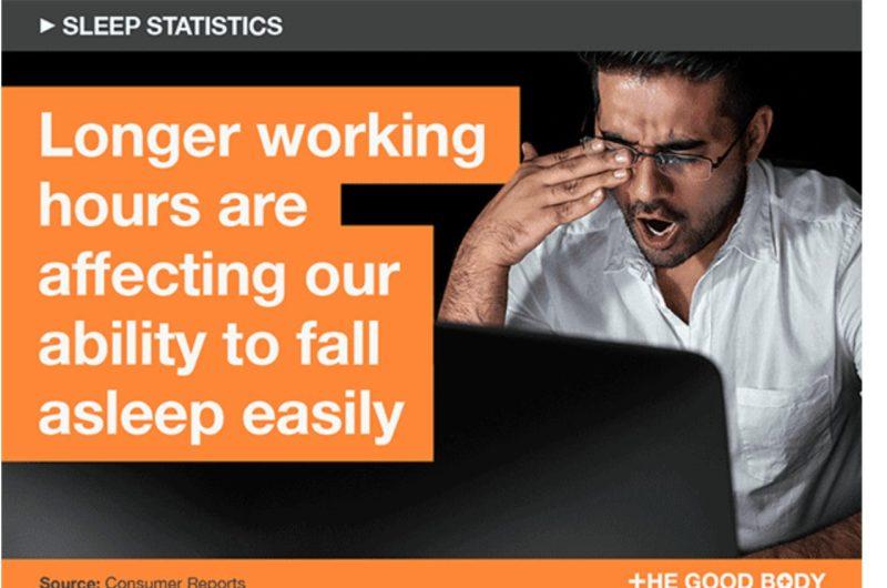 Difficoltà a prendere sonno per chi lavora a lungo