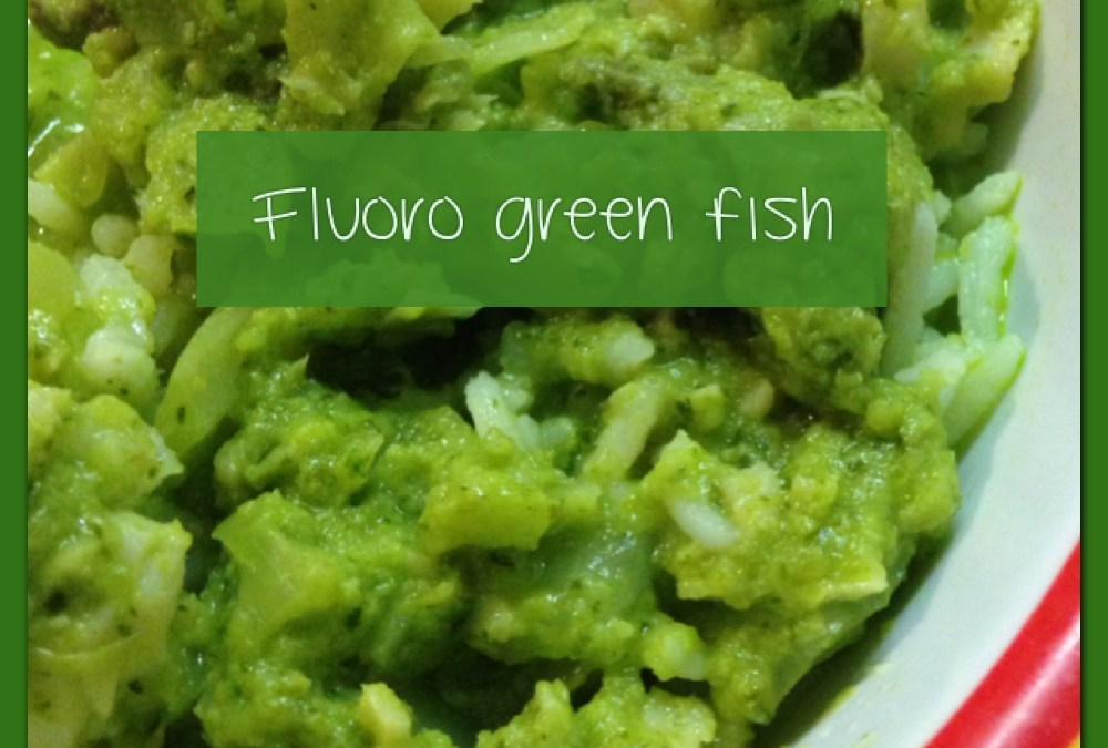 How to eat fluoro green!