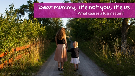 Dear Mummy, it's not you, it's us. [What causes a fussy eater?]
