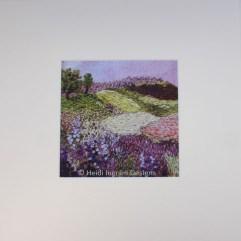Purple Landscape Print