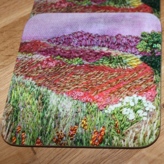 autumn landscape coaster