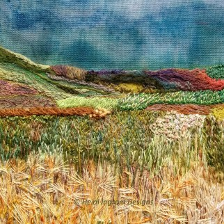 West Mains farm embroidery