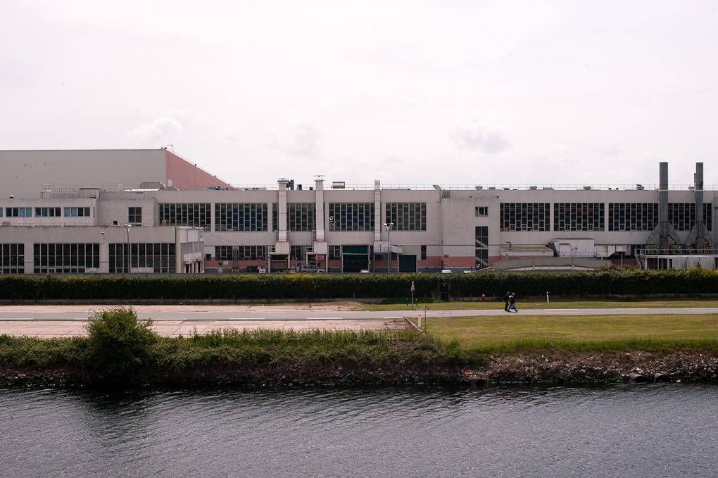 usine renault de Sandouville, canal de Tanquarville