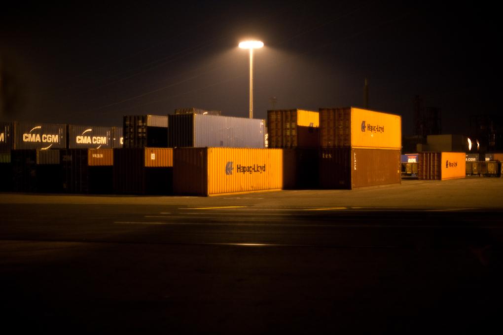 Port du Havre, quai de l'altantique, Bassin rené Coty
